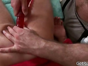 Hunky guy gets anus rimmed 2 part6